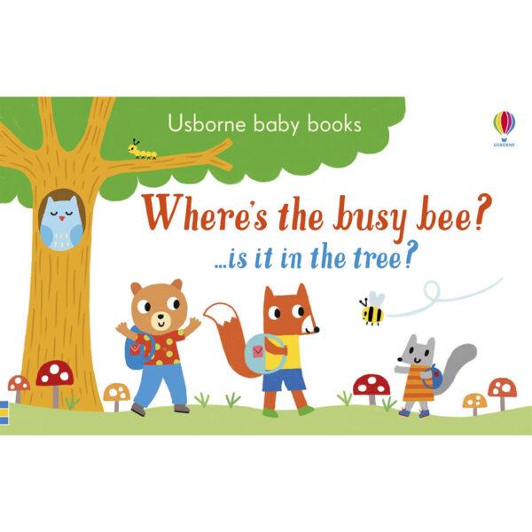 Carte pentru copii - Where's the Busy Bee - Usborne