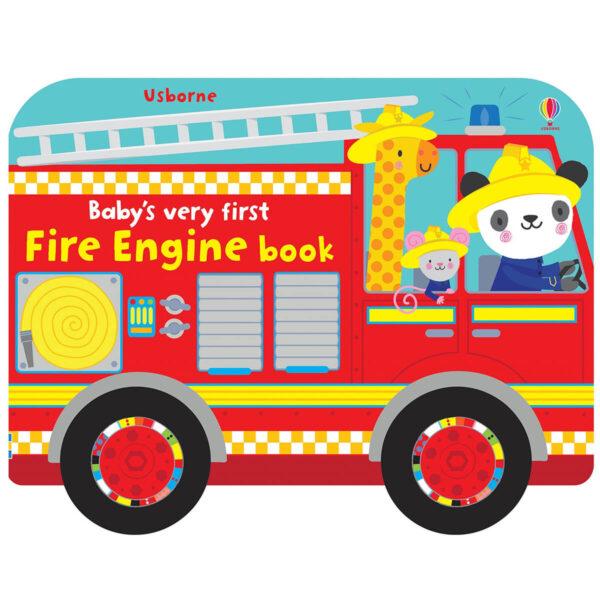 Carte pentru copii - Baby's Very First Fire Engine Book - Usborne