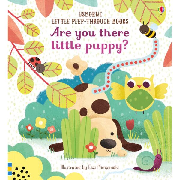Carte pentru copii - Are you there little Puppy - Usborne