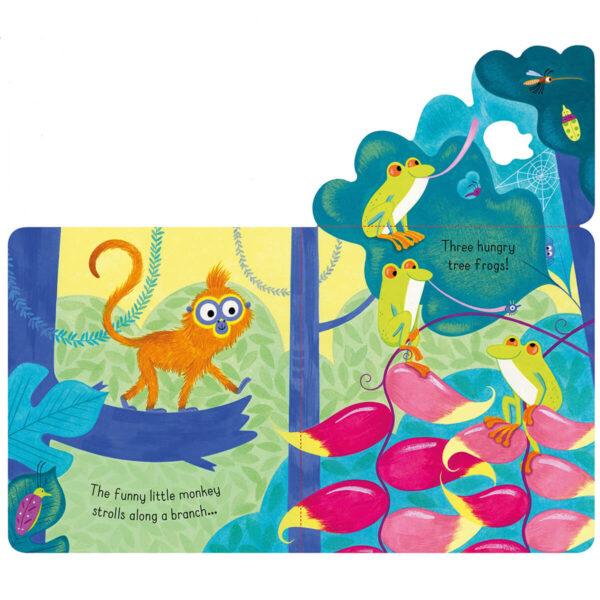 Carte pentru copii - Little Lift and Look Jungle - Usborne