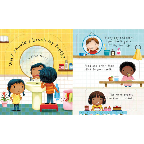 Carte pentru copii - Lift-the-flap Very First Questions and Answers Why Should I Brush My Teeth - Usborne