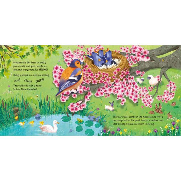Carte pentru copii - Pop-Up Seasons - Usborne