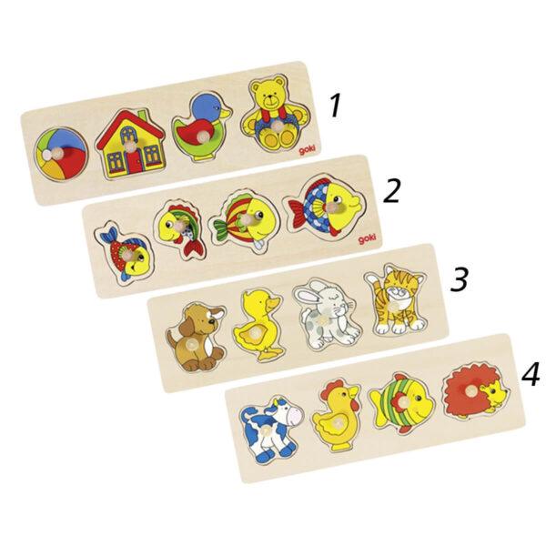 Joc de gandire - Puzzle-uri de ridicare - Powerdisplay - Goki