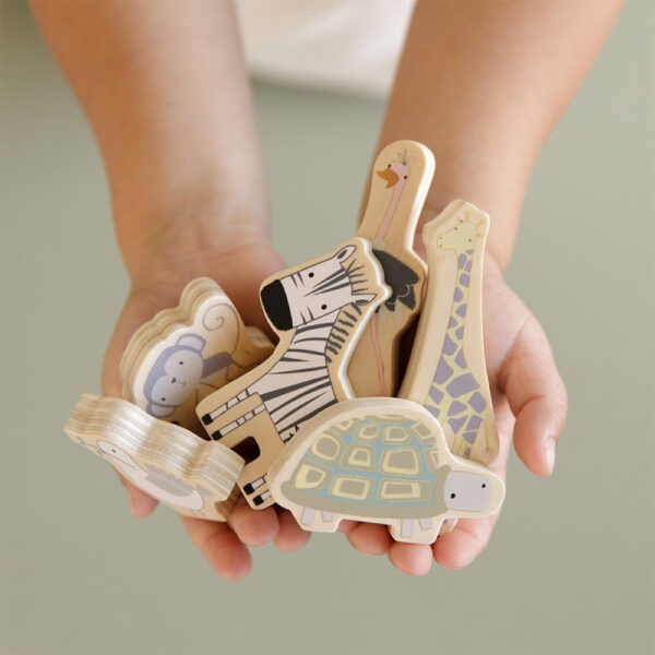 Jucarie din lemn - Arca lui Noe - Little Dutch