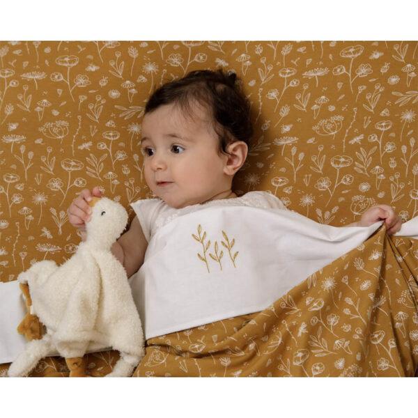 Doudou comforter pentru bebelusi - Gasca - colectia Little Goose - Little Dutch