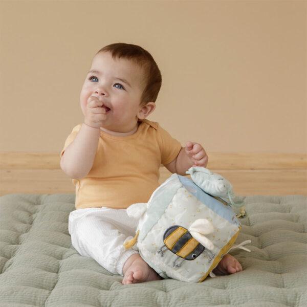 Cub soft de activitati pentru bebelusi - colectia Little Goose - Little Dutch