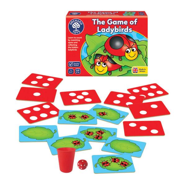 Joc educativ in limba engleza - Buburuzele - Ladybirds - Orchard Toys
