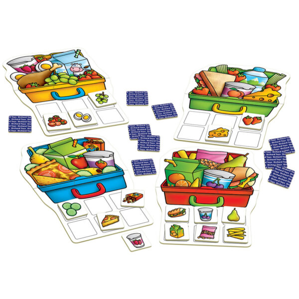 Joc educativ in limba engleza - Mancare sanatoasa - Lunch Box Game - Orchard Toys