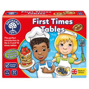 Joc de invatare in limba engleza - Tabla inmultirii pentru incepatori - First Times Tables - Orchard Toys