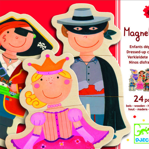 Joc cu magneti pentru copii - Carnaval - Djeco