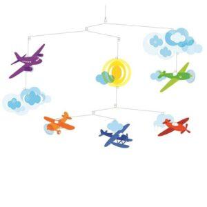 Decoratie mobila camera copilului - Avioane - Djeco