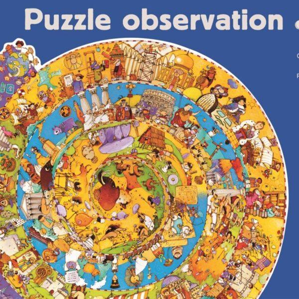 Joc educativ - Puzzle Evolutie - Djeco