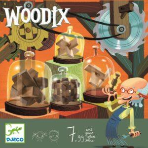 Joc de logica din lemn - Woodix - Djeco