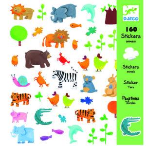 Abtibilduri - Animale vesele - Djeco