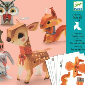 Jucarii din hartie - Animale - Djeco