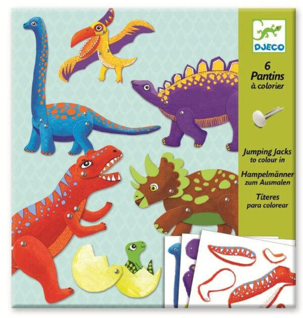 Joc creativ - Dinozauri in miscare - Djeco