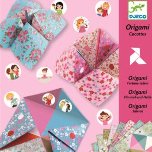 Jucarie pentru confectionat - Primii pasi in origami - Djeco