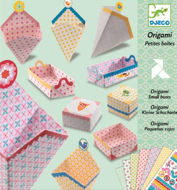 Joc de tip origami - Set de confectionat cutii - Djeco