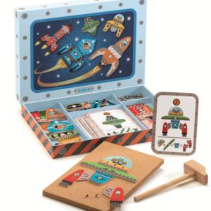 Joc Tap Tap - Nave spatiale de asamblat - Djeco