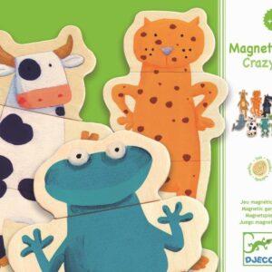 Joc cu magneti - Animale amuzante - Djeco
