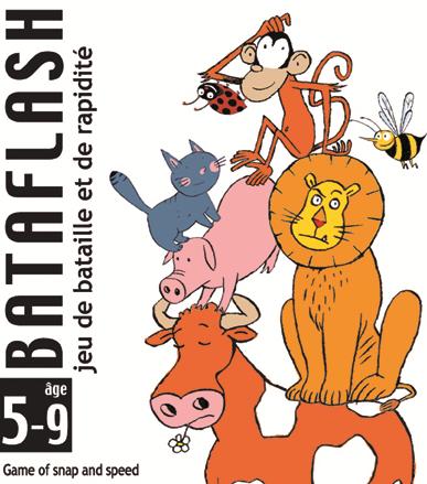 Joc de carti pentru copii - Bataflash - Djeco
