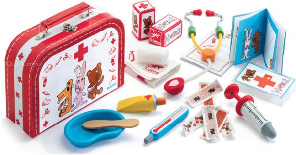 Jucarie educativa - Trusa medic veterinar - Djeco