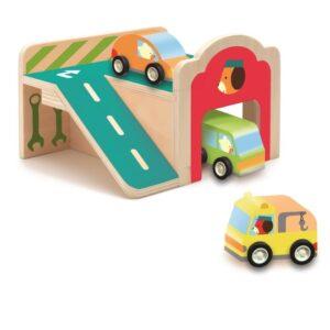 Jucarie pentru copii - Mini garaj - Djeco