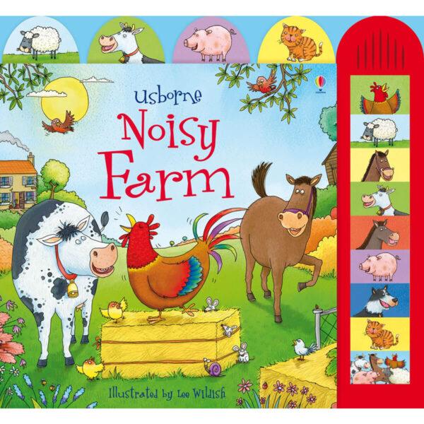 Carte pentru copii cu sunete - Noisy Farm - Usborne