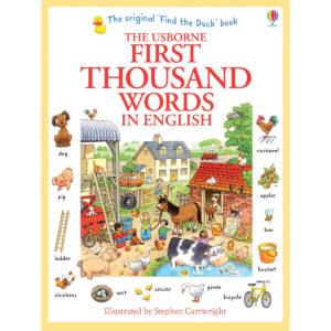 Carte pentru copii - First Thousand Words in English - Usborne