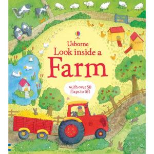 Carte pentru copii - Look Inside: a Farm - Usborne