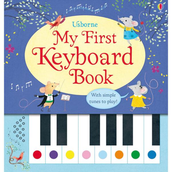 Carte pentru copii - My First Keyboard Book - Usborne