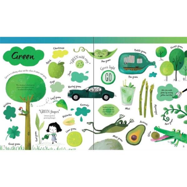 Carte pentru copii - Big Book of Colours - Usborne