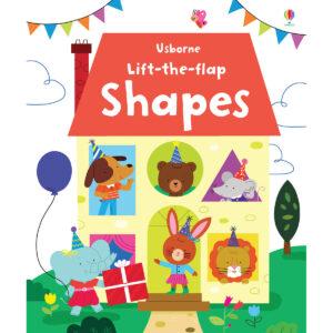 Carte pentru copii - Lift-the-flap Shapes - Usborne