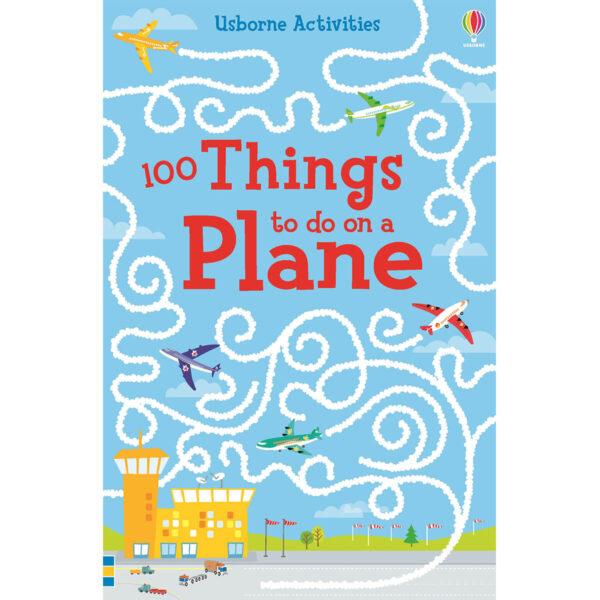 Carte pentru copii - 100 things to do on a plane - Usborne