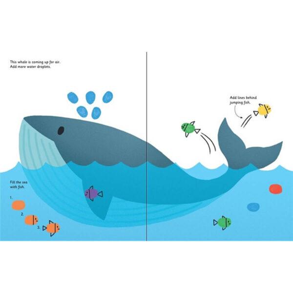 Carte pentru copii - Fingerprint Activities Animals - Usborne