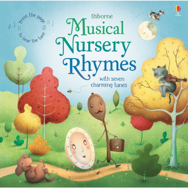 Carte pentru copii cu sunete - Musical Nursery Rhymes - Usborne