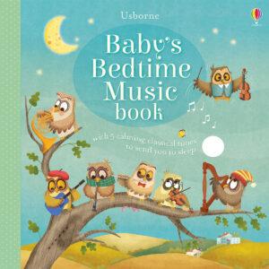Carte muzicala pentru copii - Baby's Bedtime Music Book - Usborne