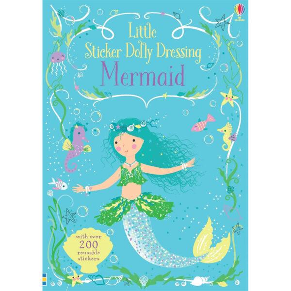 Carte pentru copii - Little Sticker Dolly Dressing Mermaid - Usborne