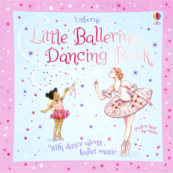Carte pentru copii - Little Ballerina Dancing Book - Usborne