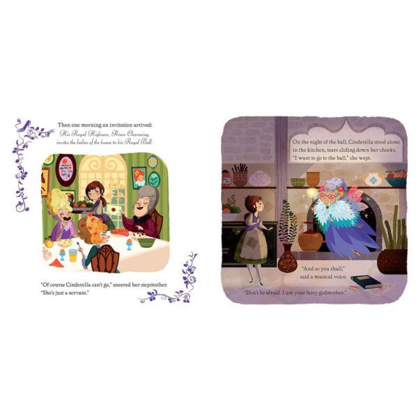 Carte cu Puzzle - Book and Jigsaw Cinderella - Usborne
