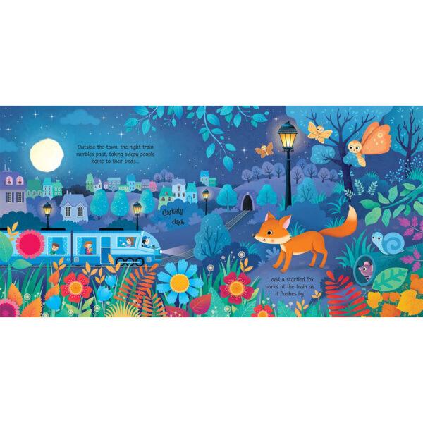 Carte pentru copii cu sunete - Night Sounds - Usborne