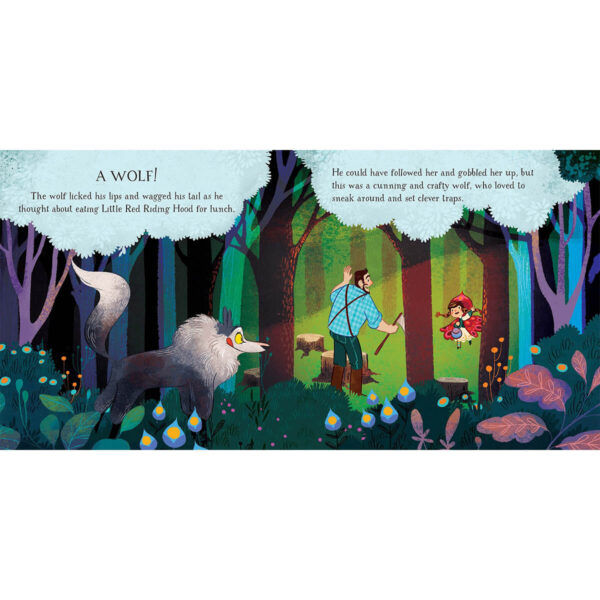 Carte cu Puzzle - Book and Jigsaw Little Red Riding Hood - Usborne