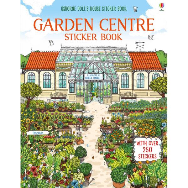 Carte pentru copii - Garden Centre Sticker Book - Usborne