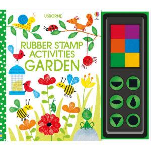 Carte pentru copii - Rubber Stamp Activities Garden - Usborne