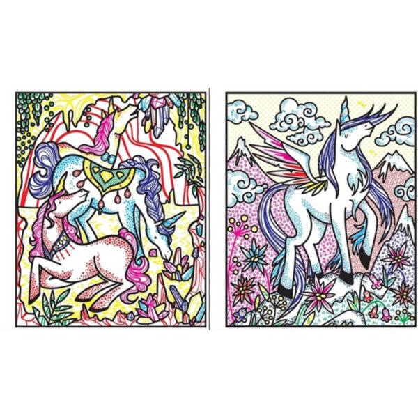 Carte pentru copii - Unicorns Magic Painting Book - Usborne