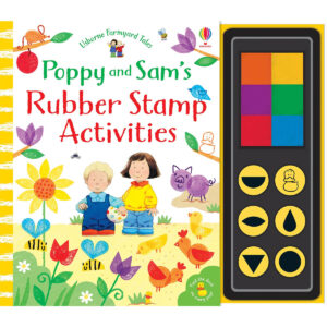Carte pentru copii - Poppy and Sam's Rubber Stamp Activities - Usborne