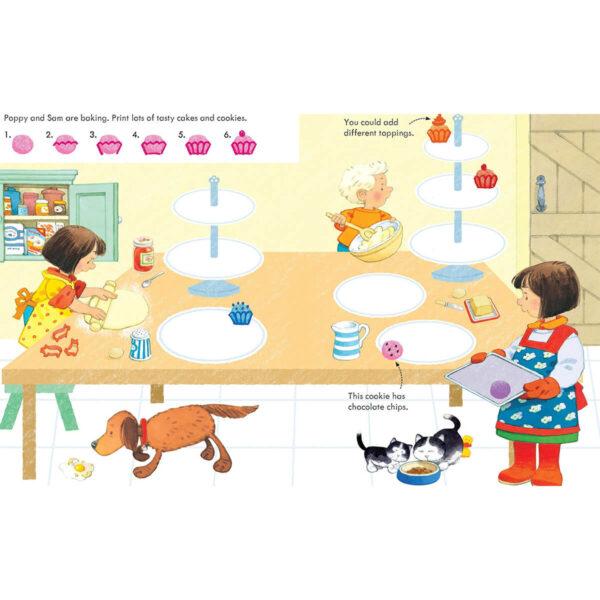 Carte pentru copii - Poppy and Sam's Fingerprint Activities - Usborne