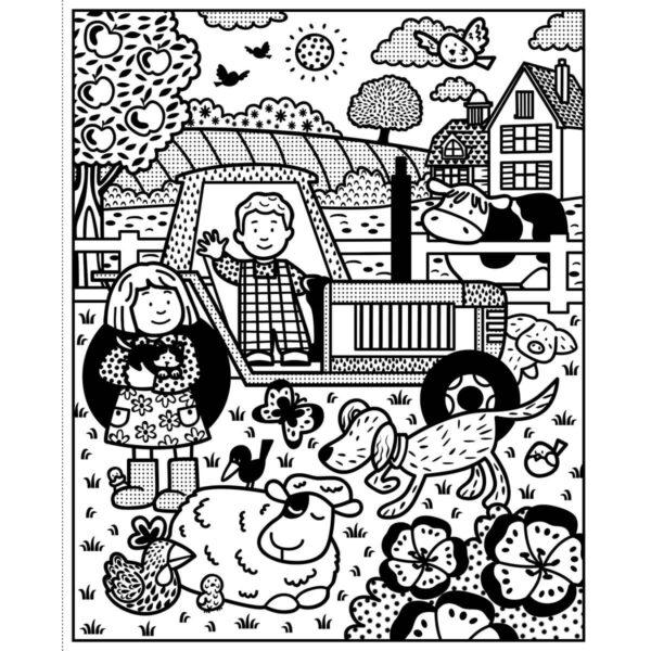 Carte pentru copii - Poppy and Sam's Magic Painting Book - Usborne