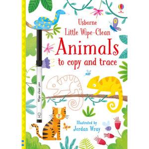 Carte pentru copii - Little Wipe-Clean Animals to Copy and Trace - Usborne
