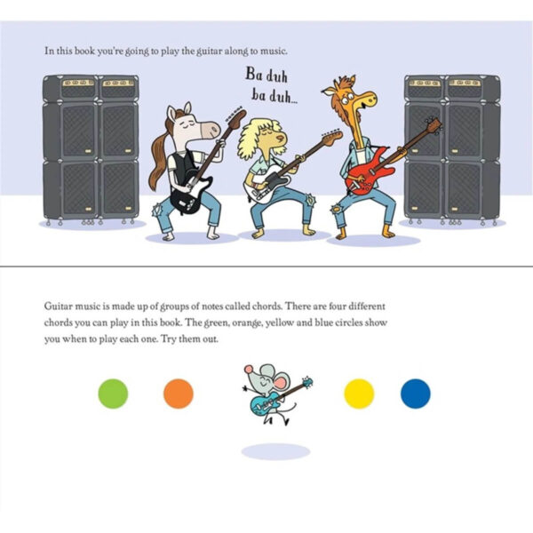 Carte pentru copii - My First Guitar Book - Usborne